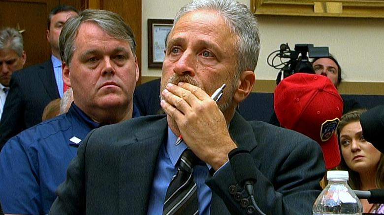 Image result for Jon Stewart rips lawmakers for not showing up to 9/11 responders hearing