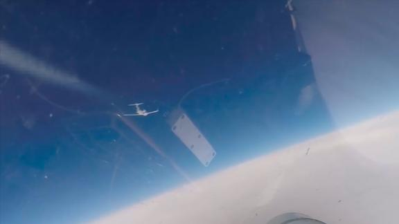 Russia intercepted US and Swedish reconnaissance aircraft over the Baltic Sea on June 10.