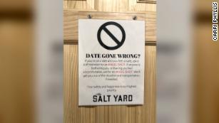 """Albuquerque bar offers """"angel shot"""" as a code to help women flag a bartender for help - CNN"""