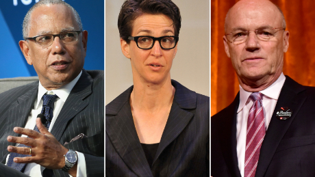Dean Baquet, Rachel Maddow, and Phil Griffin