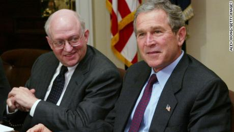 Martin Feldstein, with President George W. Bush in January 2003, was a powerful voice in helping Bush push a massive tax cut plan.