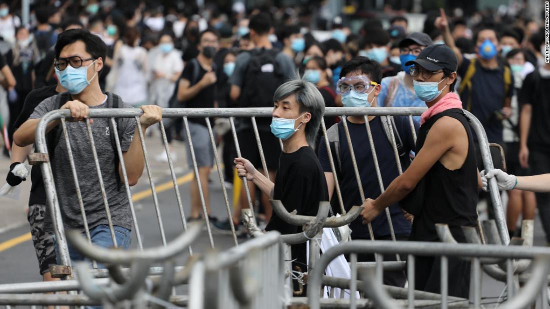 Hong Kong protests; KKR and Axel Springer; Oil watch – CNN