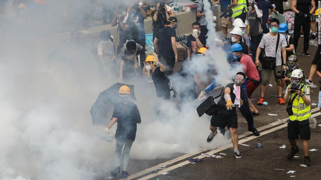 Hong Kong protests over China extradition bill: Live updates