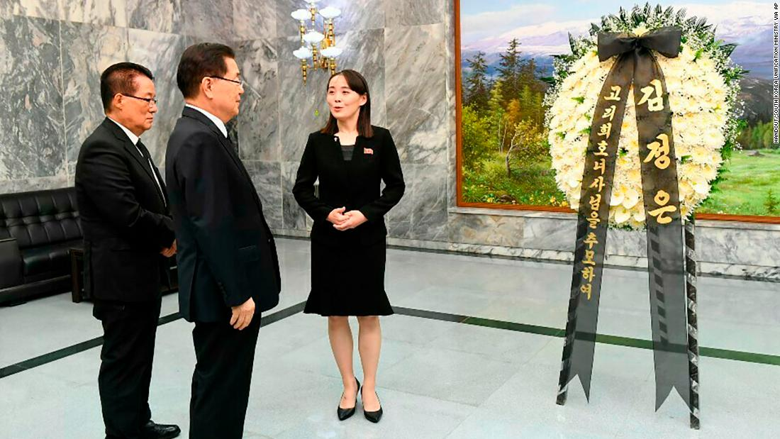 Kim Jong Un's sister visits DMZ to pay respects to late South Korean first lady