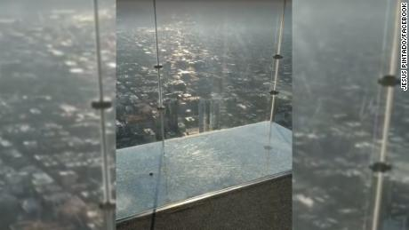 This is not the first time the SkyDeck's protective layer has cracked. In both instances the building reported no threat of danger.