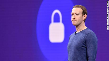 Facebook CEO Mark Zuckerberg speaks during the annual F8 summit at the San Jose McEnery Convention Center in San Jose, California on May 1, 2018. (Photo by JOSH EDELSON / AFP)        (Photo credit should read JOSH EDELSON/AFP/Getty Images)