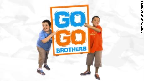 "The ""Go Go Brothers"" features the zany adventures of ""Bean Boy,"" left, and ""Rooey"""
