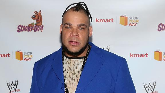 NEW YORK, NY - MARCH 22:  Brodus Clay attends Scooby Doo! WrestleMania Mystery at Tribeca Cinemas on March 22, 2014 in New York City.  (Photo by Taylor Hill/FilmMagic)
