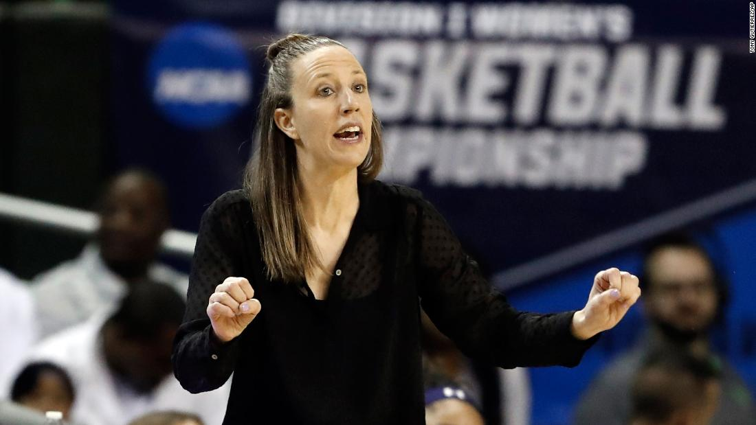 Lindsay Gottlieb just became the first women's college head coach to join an NBA team