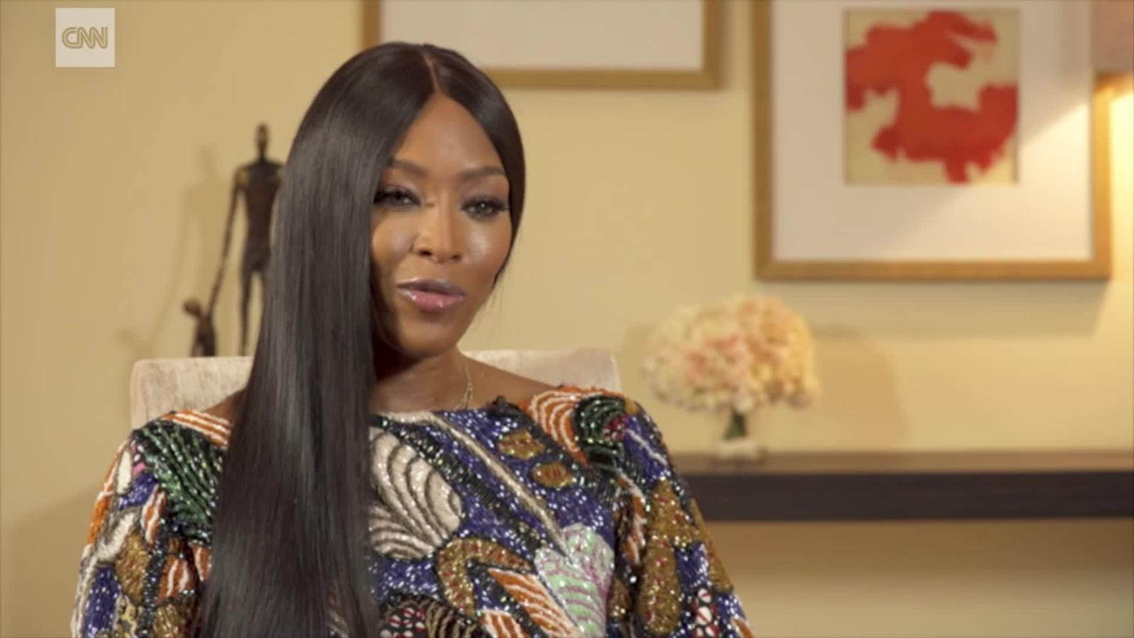 Supermodel Naomi Campbell Wants Africa S Fashion Industry To Dominate Cnn Video