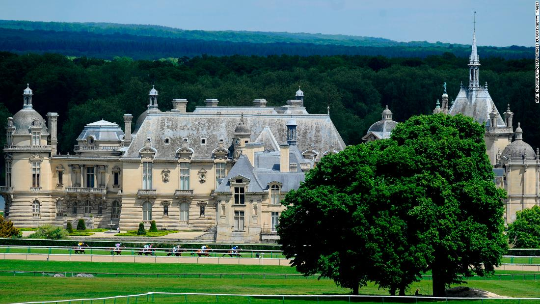 Chantilly is an historic estate featuring the 16th century Petit Chateau and the Grand Chateau, which was destroyed during the French Revolution but rebuilt in the 1870s.