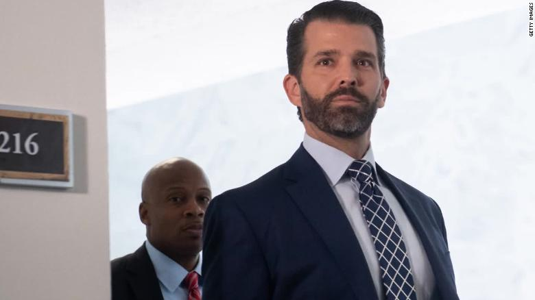 Donald Trump Jr. says there was 'nothing to change' in ...
