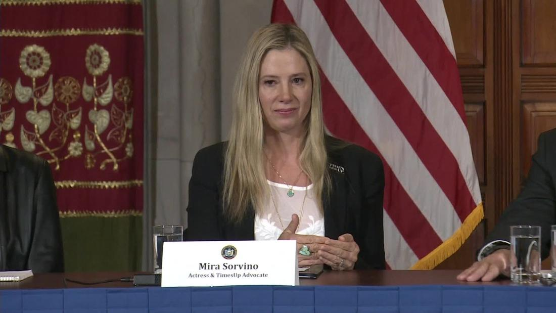 Mira Sorvino reveals she is a rape survivor