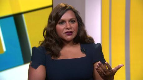 mindy kaling on the lead