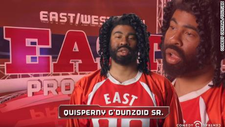 "Comic duo Key & Peele lampooned creative black names in their ""East/West College Bowl"" clips."