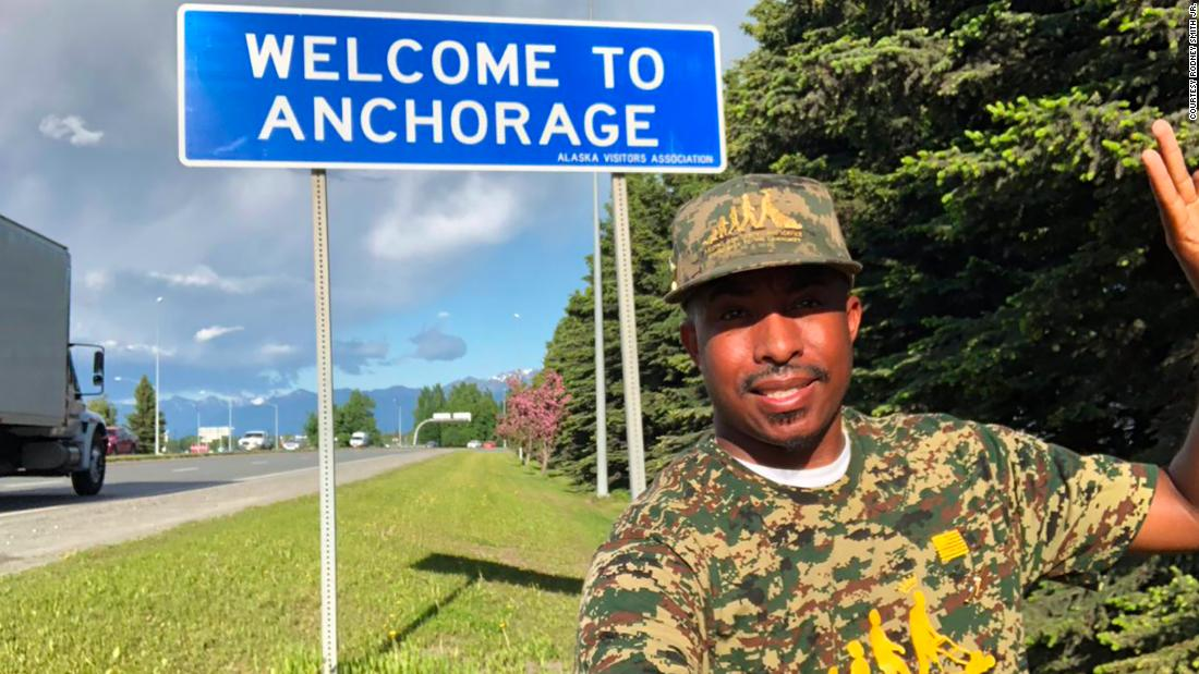 He has mowed lawns for free in all 50 states five times. This time it was for veterans.