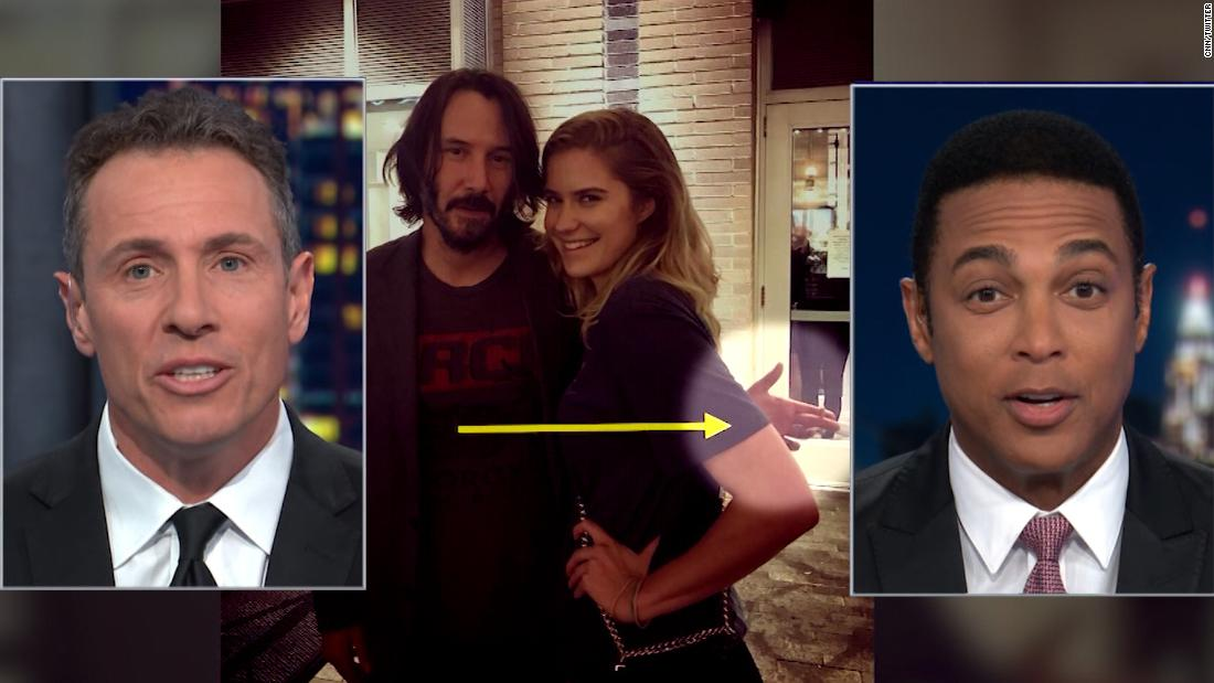 Cuomo and Lemon commend 'hyper PC' Keanu Reeves