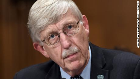 Francis Collins, MD, PhD. Director National Institutes of Health (NIH) testifies at an hearing on Capitol Hill to examine the Federal response to the opioid crisis October 5, 2017 in Washington D,C.