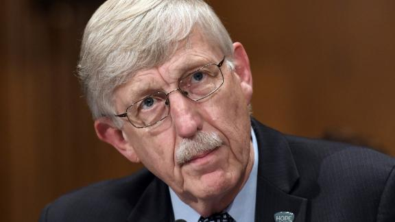 Francis Collins says he will no longer take part in panels that don't include any women.