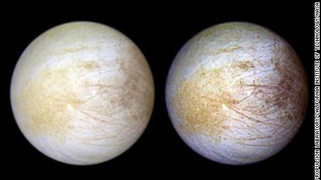 The ocean on Jupiter's moon Europa has table salt, just like the ocean on Earth