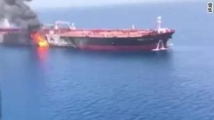 Oil prices surge after tanker attack in Gulf of Oman