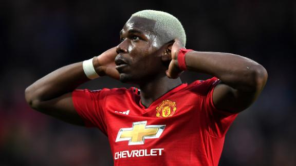 Paul Pogba of Manchester United has been linked with Spanish club Real Madrid.