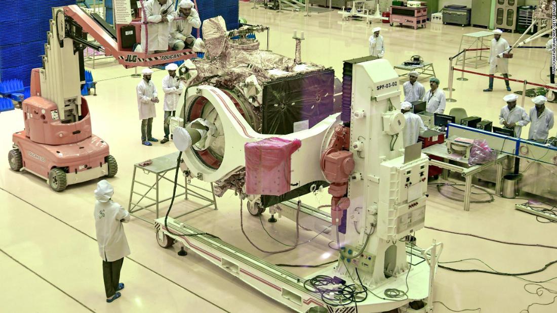 India aims for September moon landing