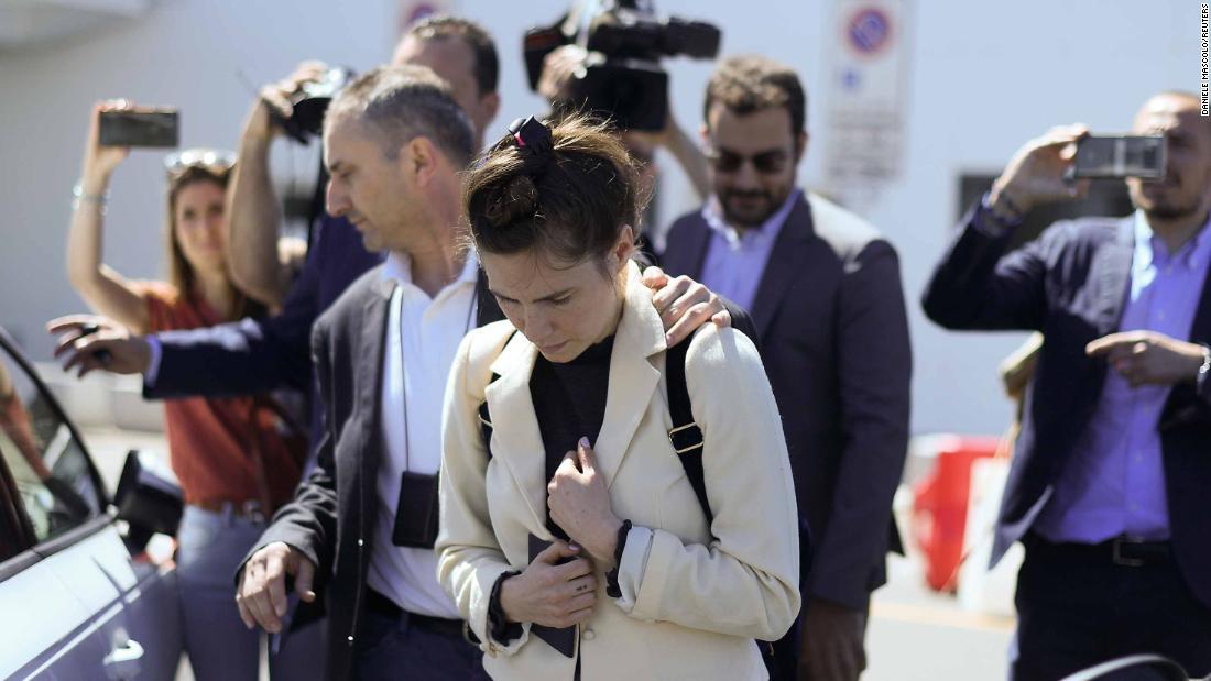 Amanda Knox: 'I am not a monster'