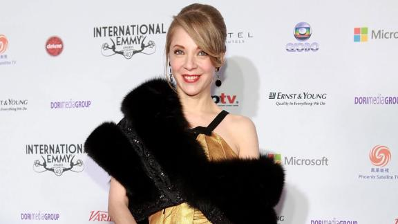 """Edith Gonzalez, here at an awards ceremony in 2012, was best known for her role in the soap """"Salomé."""""""
