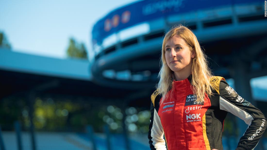 Charlie Martin: Transgender driver chases Le Mans 24 Hour race dream