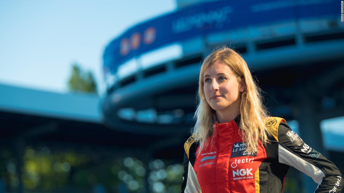 Transgender driver chases 24-hour road race dream