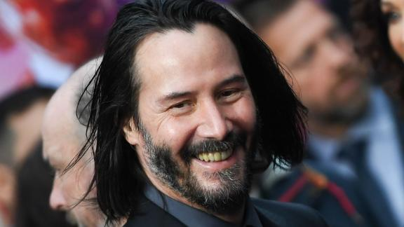 """US/Canadian actor Keanu Reeves arrives for the Los Angeles special screening of Lionsgate's """"John Wick: Chapter 3 - Parabellum"""" at the TCL Chinese theatre on May 15, 2019 in Hollywood. (Photo by Robyn Beck / AFP)        (Photo credit should read ROBYN BECK/AFP/Getty Images)"""