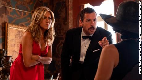Adam Sandler and Jennifer Aniston reunite in generic Netflix comedy