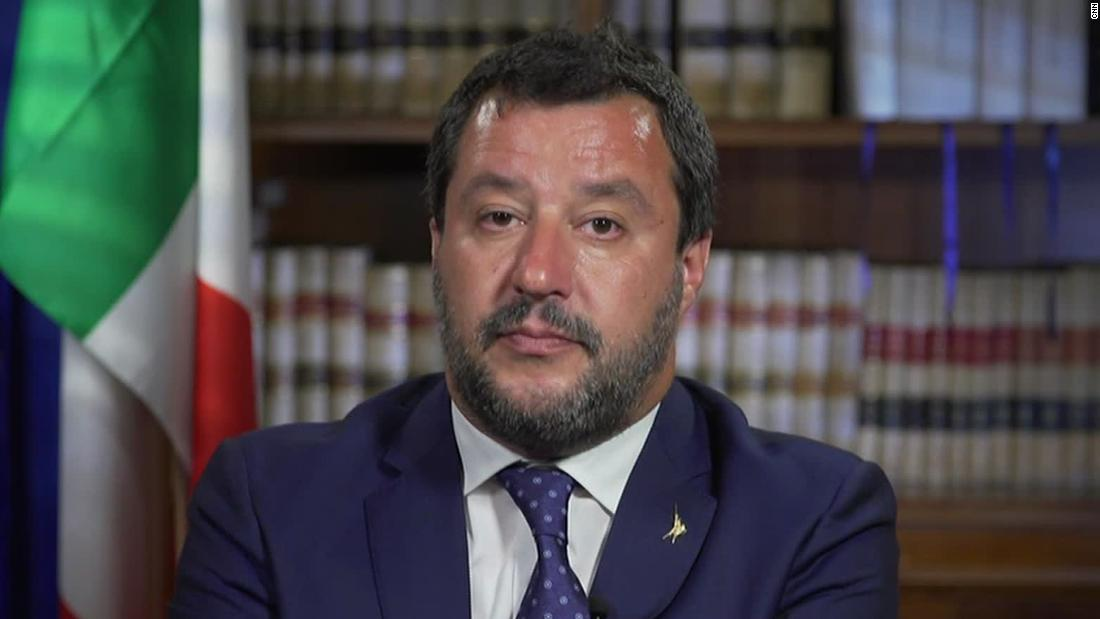 27 unaccompanied minors will be allowed to get off a migrant ship in Italy after far-right Salvini loosens his ban