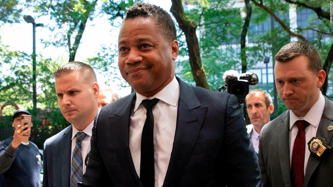 Cuba Gooding Jr. charged with forcible touching in groping incident
