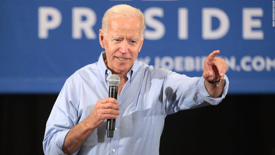 Call Doc Brown! Someone needs to bring Joe Biden back...to the future