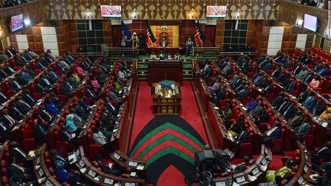 Kenyan MP accused of assaulting female colleague