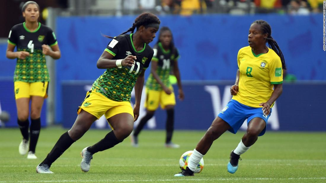 Marta: Brazil great makes history with 17th World Cup goal