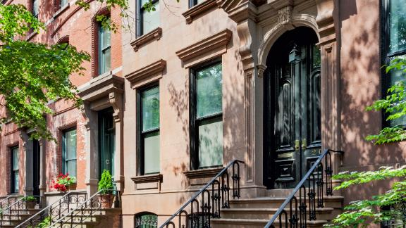 A historic brownstone in Brooklyn that was renovated into a passive house.