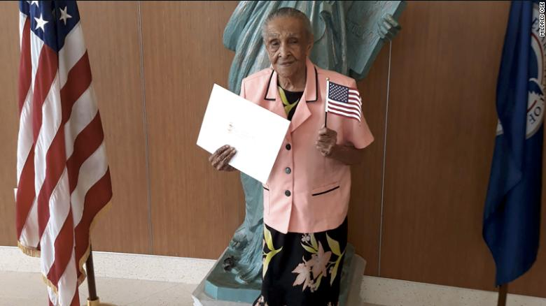 This 103-year-old woman just became a US citizen | Lipstick Alley