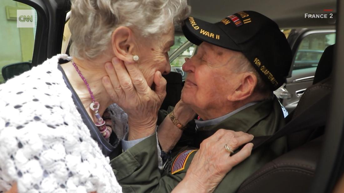 They fell in love during World War II. 75 years later, they reunited