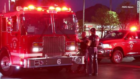 First responders during the fatal shooting in a Costco.