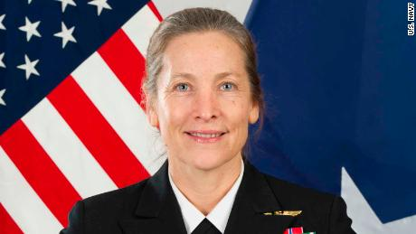 Rear Adm. Shoshana Chatfield was named the next president of the US Naval War College on Friday.