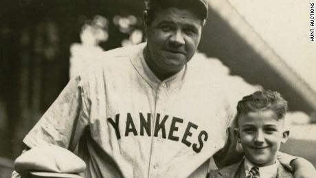 huge selection of 76331 9af8e Babe Ruth's jersey sold at auction for a record-breaking ...
