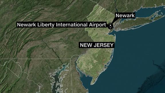 United Airlines flight blows out tires during landing at ... on salvation army newark nj, mapquest newark nj, map of liberty airport, covenant house newark nj,