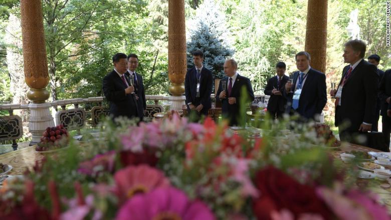 Vladimir Putin wishes Xi Jinping happy 66th birthday