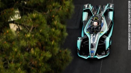 MONTE-CARLO, MONACO - MAY 11:  In this handout provided by Jaguar Panasonic Racing, Alex Lynn (GBR), Panasonic Jaguar Racing, Jaguar I-Type 3 during the Monaco ePrix, Race 9 of the 2018/19 ABB FIA Formula E Championship at Circuit de Monaco on May 11, 2019 in Monte-Carlo, Monaco. (Photo by Panasonic Jaguar Racing via Getty Images)