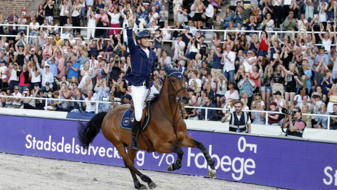 Peder Fredricson clinches home win at first Global Champions Tour in Stockholm