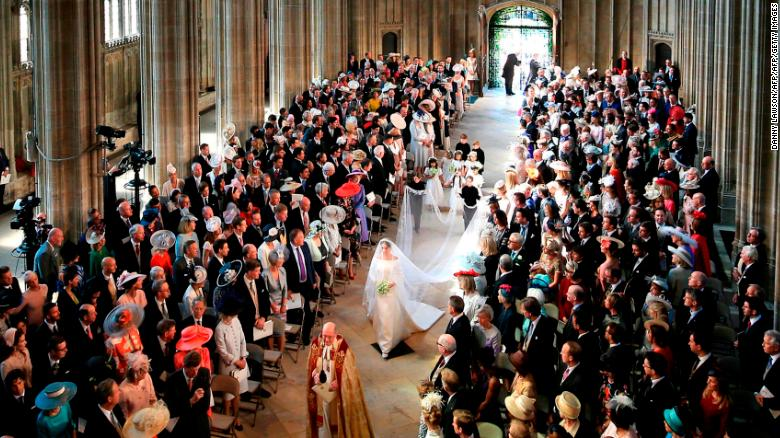 The christening is expected to take place in St George's Chapel at Windsor Castle, where Prince Harry and Meghan got married in May 2018.