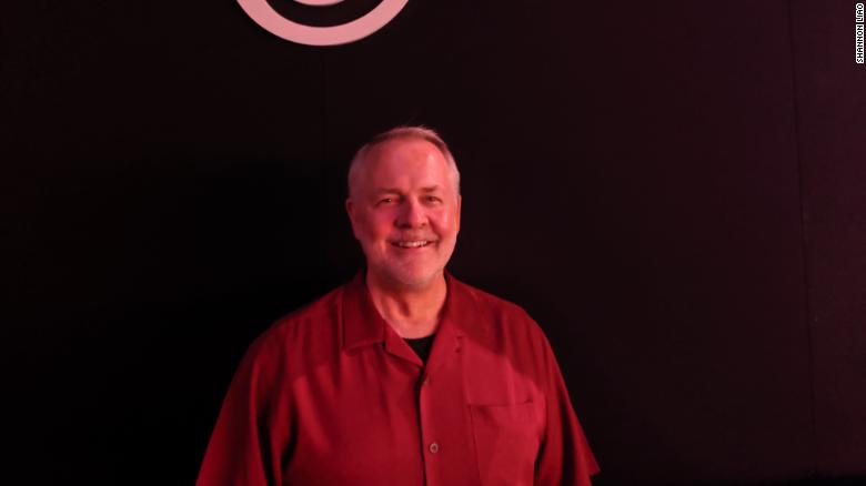 Chris Early, VP of partnerships and revenue at Ubisoft, poses for a photo.